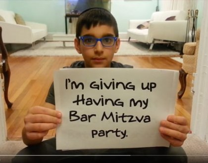 The Orthodox Bar Mitzvah Boy Who Raised $19k For Kids With Cancer