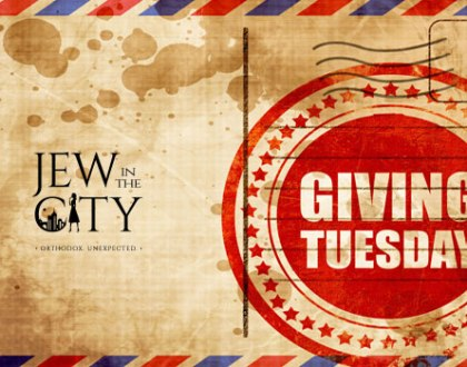 Giving Tuesday at Jew in the City and Project Makom