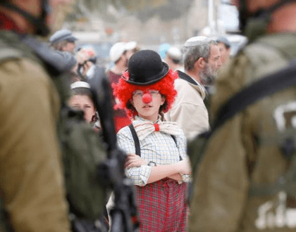Purim in Hebron & Other Orthodox Jews in the News