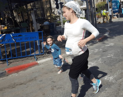 The 7 Months Pregnant Orthodox Jewish Woman Who Ran A Marathon