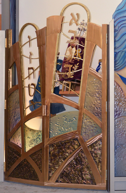 American Guild of Judaic Art Ark Doors by David Klass - American Guild of Judaic Art & American Guild of Judaic Art Ark Doors by David Klass - American ...