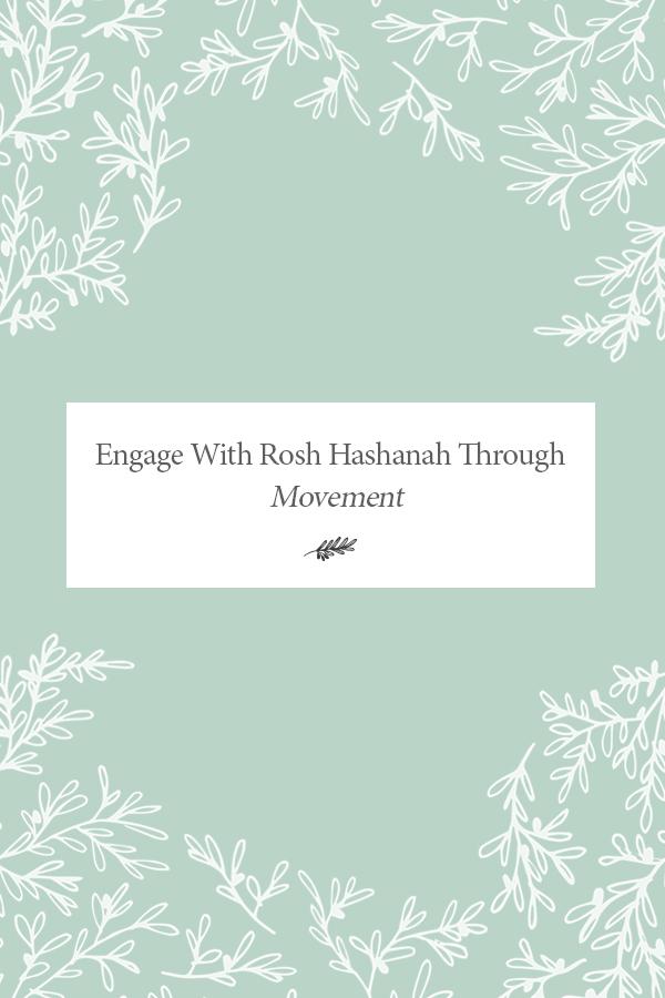Engage With Rosh Hashanah Movement