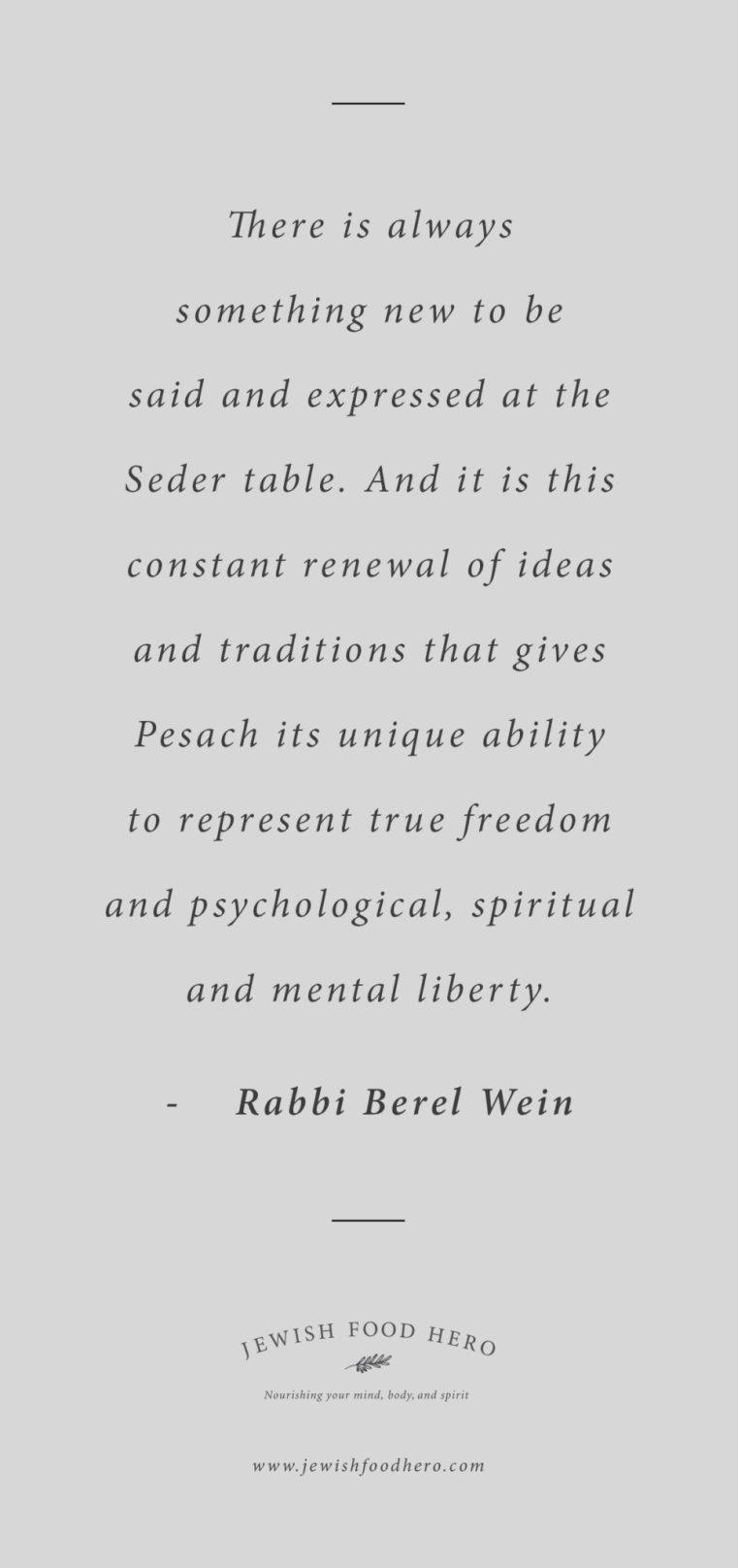 Rabbi Berel Wein quotes, Jewish quotes on freedom