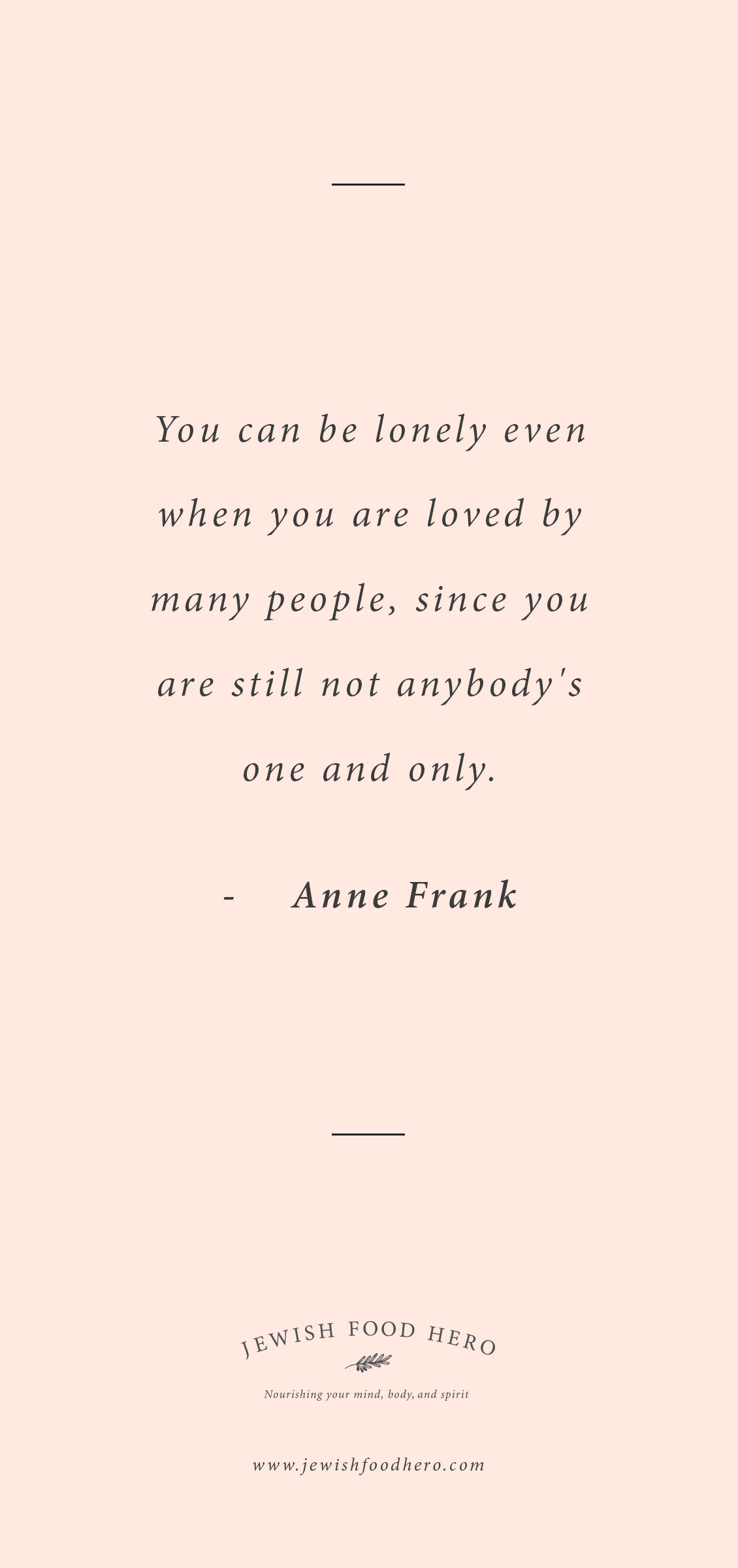Image of: Cheesy Anne Frank Quote Quote For Life Motivation And Famous Jewish Love Quotes That Will Make You Smile Jewish Food Hero