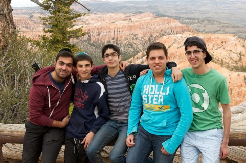 From the Beauty of Torah to the Beauty of Utah; Valley Torah Boys Bond Outside the Classroom (5)