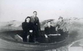 Danish jews arrive in Sweden October 6, 1943