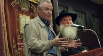 Jon with Rabbi Cunin