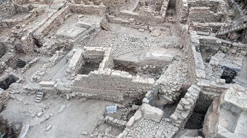 Recently discovered Greek fortress outside of Yerushalayim