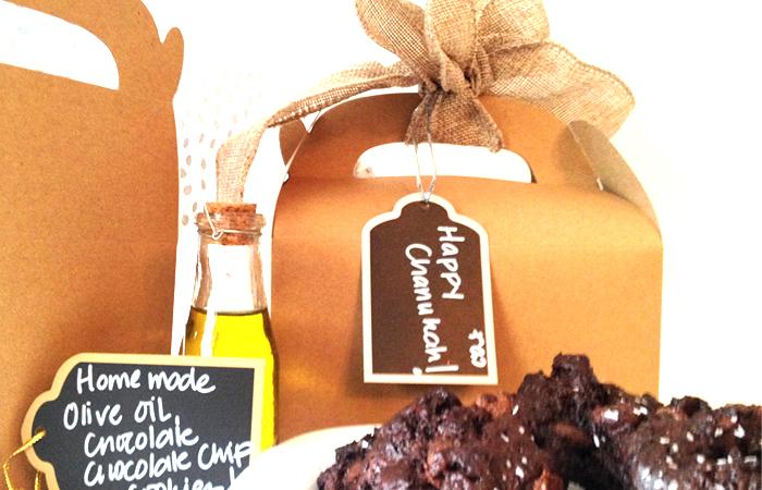 Hannukah Chocolate Cookie || Galletas de chocolate de Jánuca