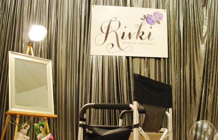 Rivki Makeup Artistry's Booth