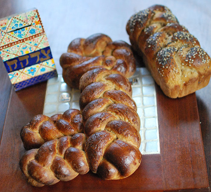 Key Shaped Challah
