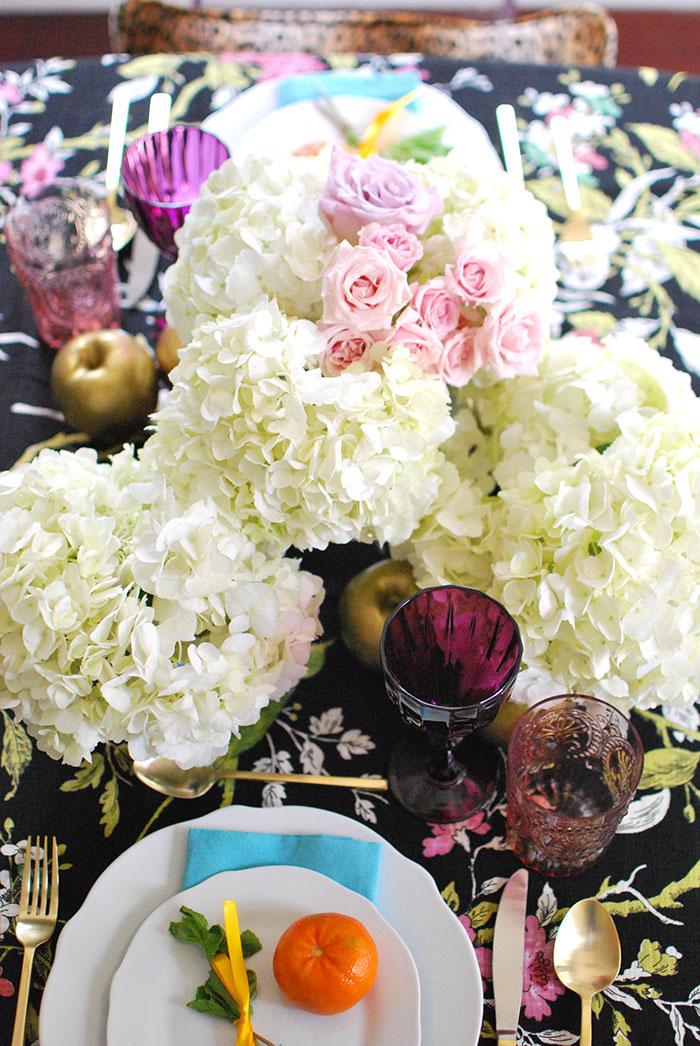 Floral Centerpiece for Shavuot