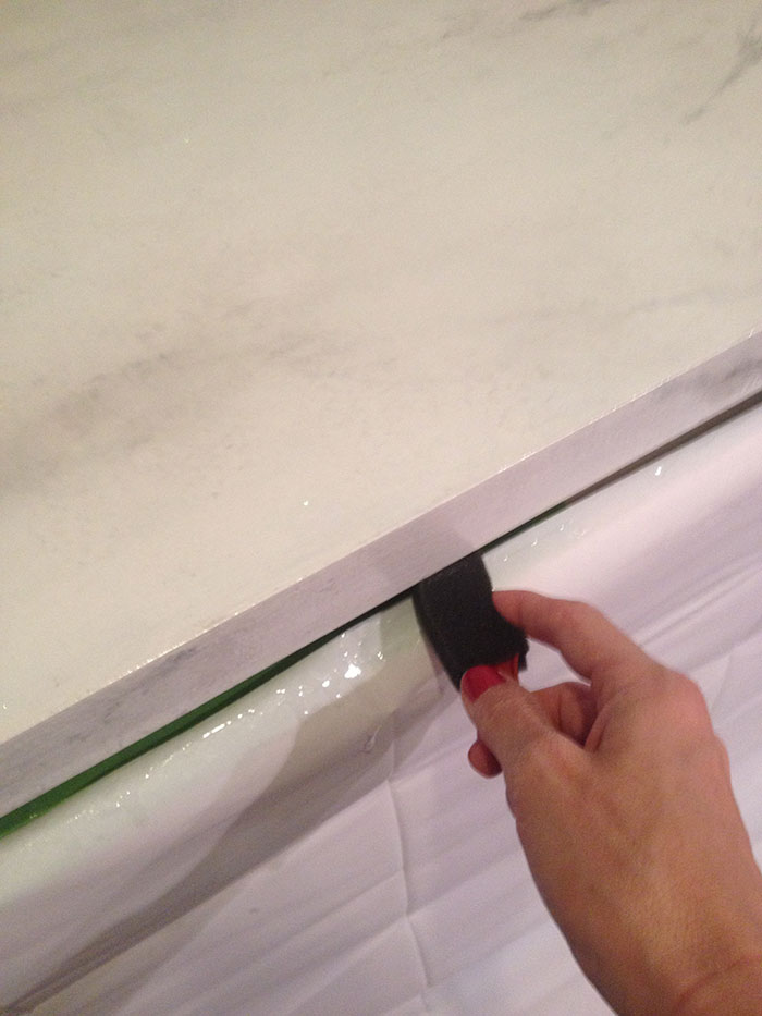 Faux Marble Countertop DIY By Jewish Latin Princess