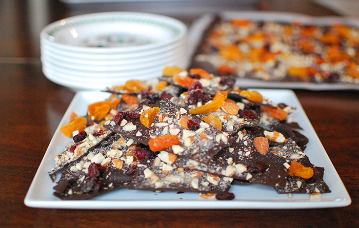 Chocolate Bark for Shabbat By Jewish Latin Princess