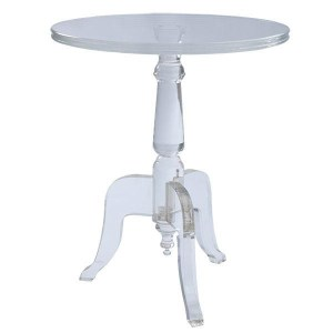 Lucite round table from hobby lobby at Jewish Latin Princess