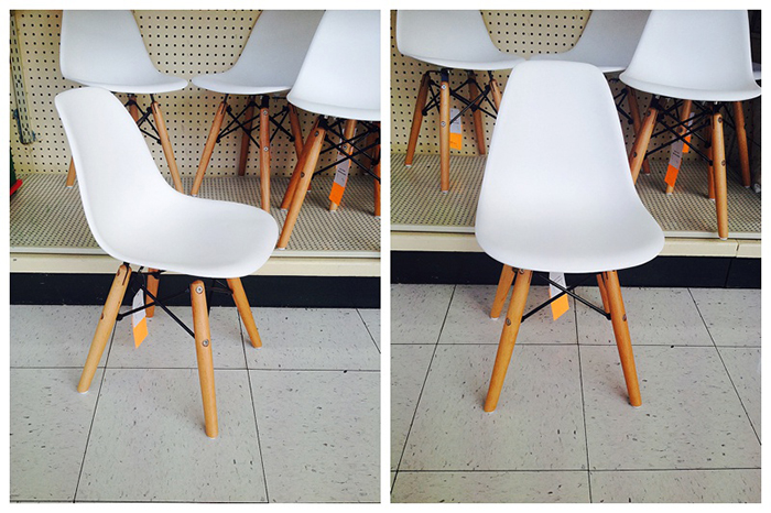 Charles Aemes Chairs for kids found at hobby lobby