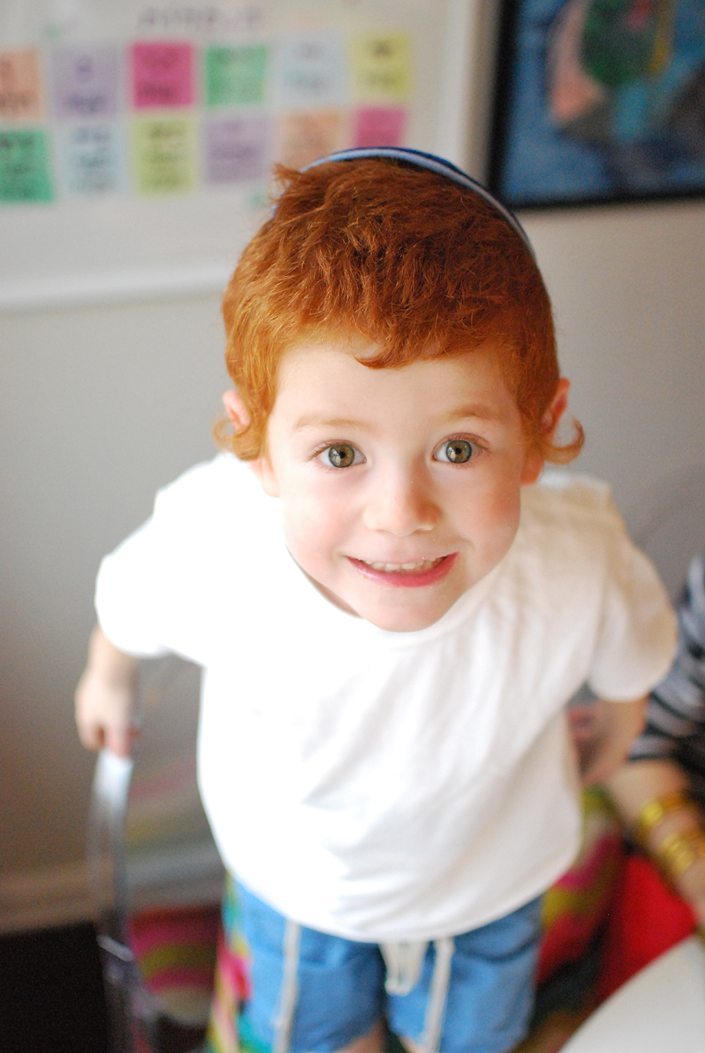 Red Head Boy Excited