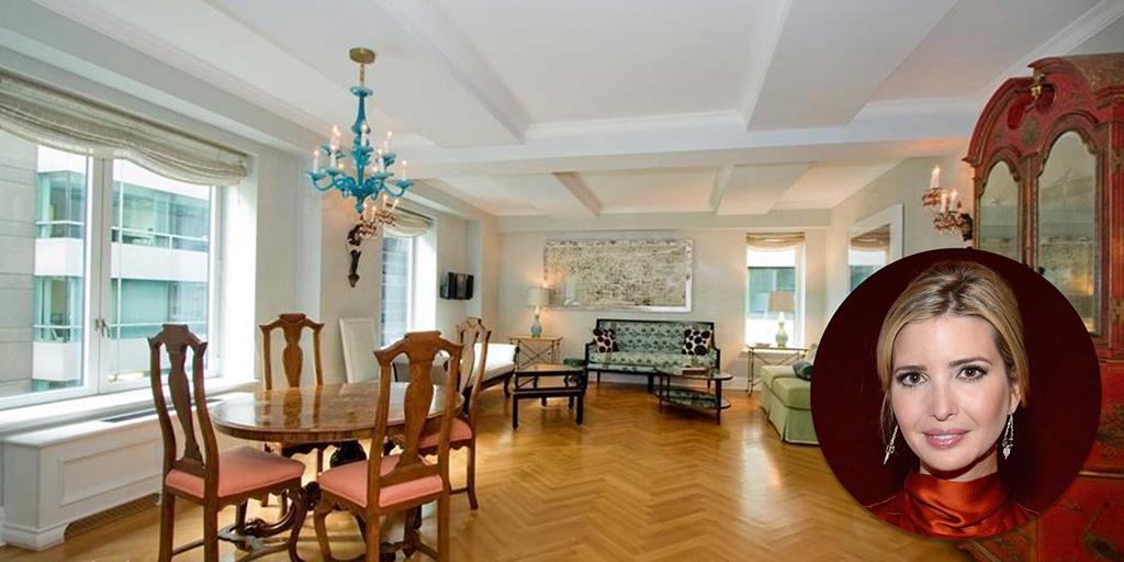 Ivanka Trumps Apartment for Sale