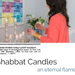 Las velas de Shabbat