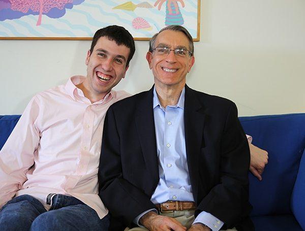 Sam and Richard Busis