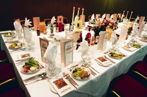 Table Set for Seder