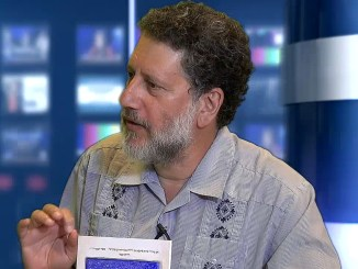"""David Zinner, executive director of Kavod v'Nichum, which provides training in Jewish funeral customs, is the guest on the August 1 episode of JSA-TV's """"Conversations."""""""