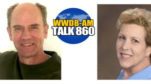 Author and actor Steve Zettler, left, and family legacy video producer Barbara Sherf are guests on the September 16 Boomer Generation Radio show.