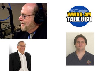 Colin Milne, Colin Milner Author, entrepreneur, public speaker and chair of the International Council on Active Aging, lower left, and Dr. Jonathan Stacker, an Emory University gerontologist, are this week's Boomer Generation Radio guests