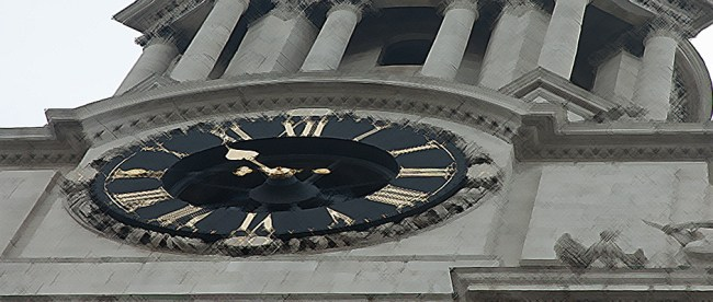 London clock. Copyright ©2008 Steve Lubetkin. Used by permission.