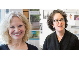 Sally Kaplan, left, and Rabbi Mychal Springer, are guests on this edition of the Jewish Sacred Aging Podcast