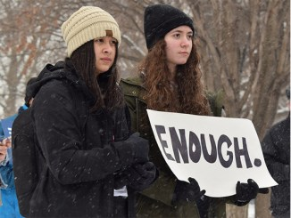 """""""March for Our Lives, Iowa City,"""" photo by Cora Dove, used under Creative Commons 2.0 License, via Flickr.com"""