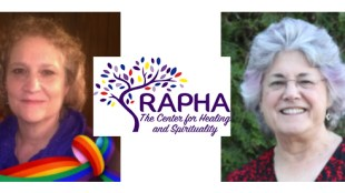 Rabbi Abby Michaelski, left, and Kohenet Ma'ayana Tishman are the leaders of the RAPHA Center, which creates opportunities for individuals and and communities to build strong spiritual connections and experiences that provide comfort to the mind, body, and soul.