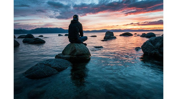 """""""Serenity Now Moment at Lake Tahoe,"""" Photo by Keegan Houser on Unsplash"""
