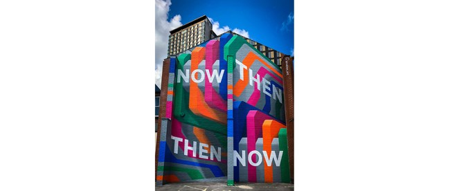 Now Then Then Now Painting, Photo by Gary Butterfield on Unsplash