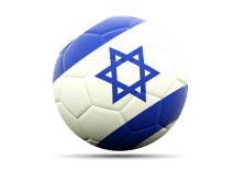 football israel flag