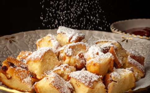 """Kaiserschmarrn"", the emperor's messy soufflé pancake in all its glory!"