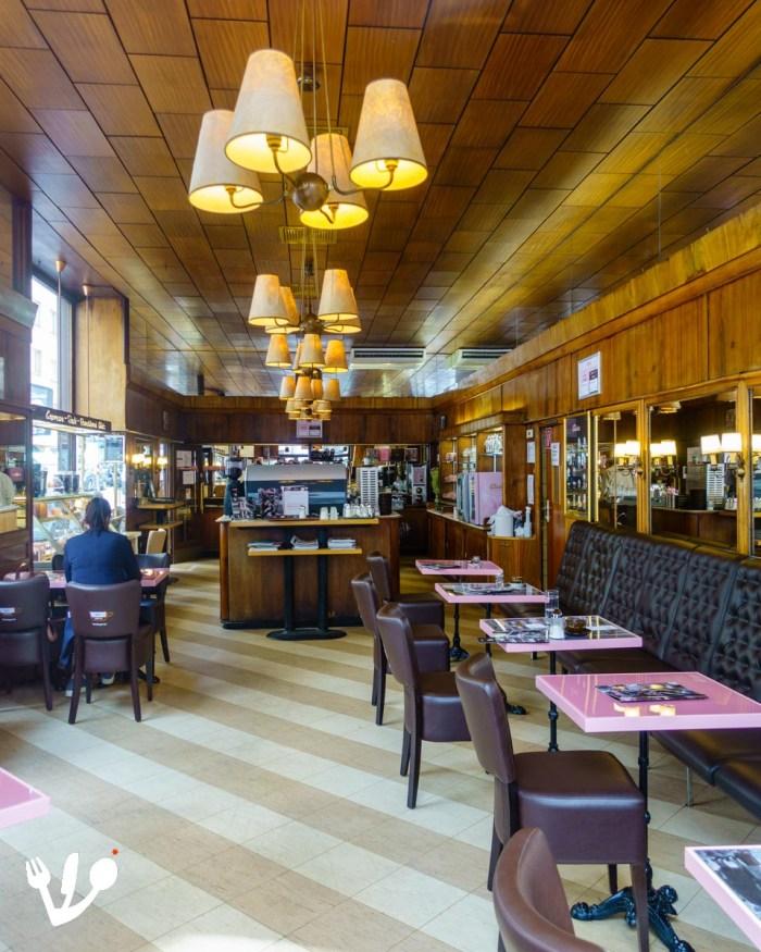 Café Conditorei Espresso Aida Wollzeile coffeehouse pastry shop Vienna