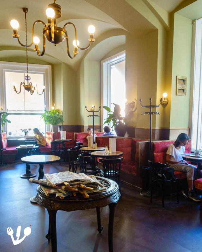 Café Eiles coffeehouse Vienna