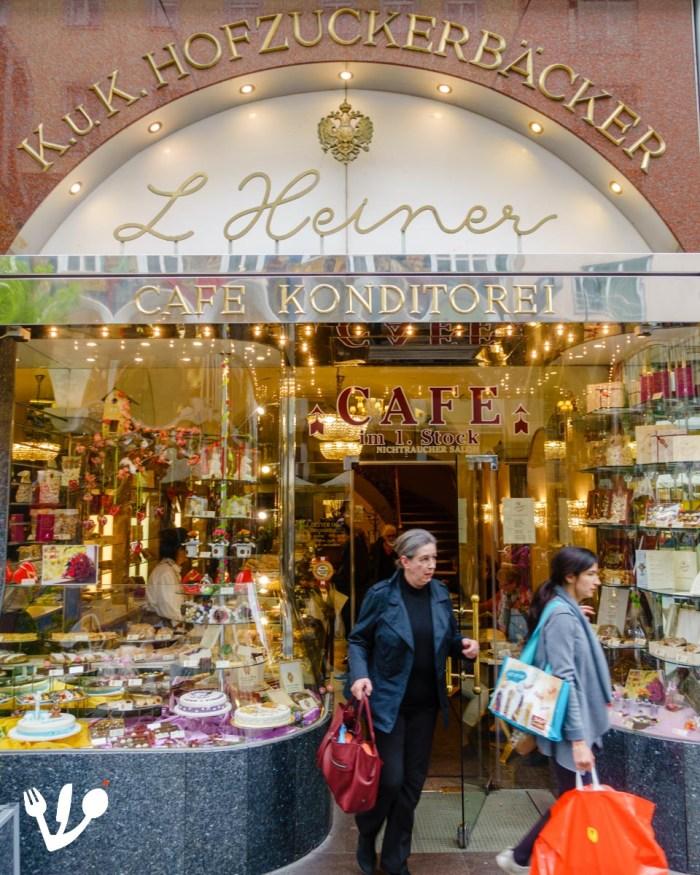 Konditorei Heiner pastry shop Vienna