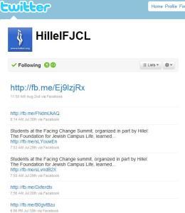 Hillel's Twitter Feed