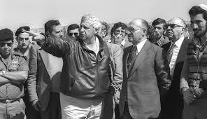 Sharon and Begin in Lebanon 1982