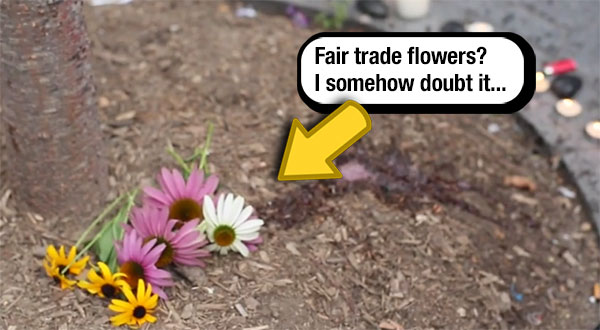Bodega flowers in NY are not fair trade and produced in awful places under awful conditions