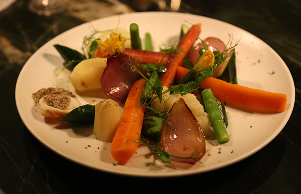 Vegetable Sashimi