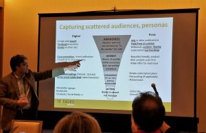 Leo Lazar pointing out about capturing audiences