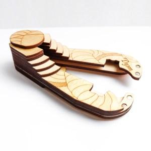wooden case for jew's harp Duet