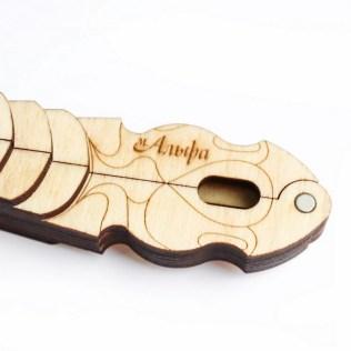 wooden case for jew's harp Alpha mini