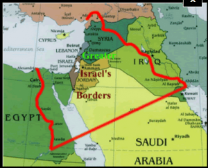 Israel as given to Abraham