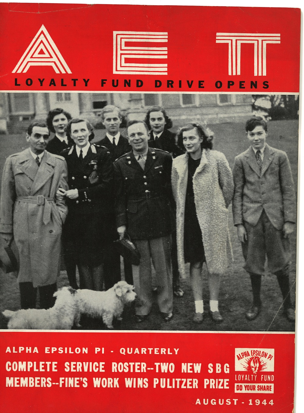 AEPi's History of Service – Jews in Green