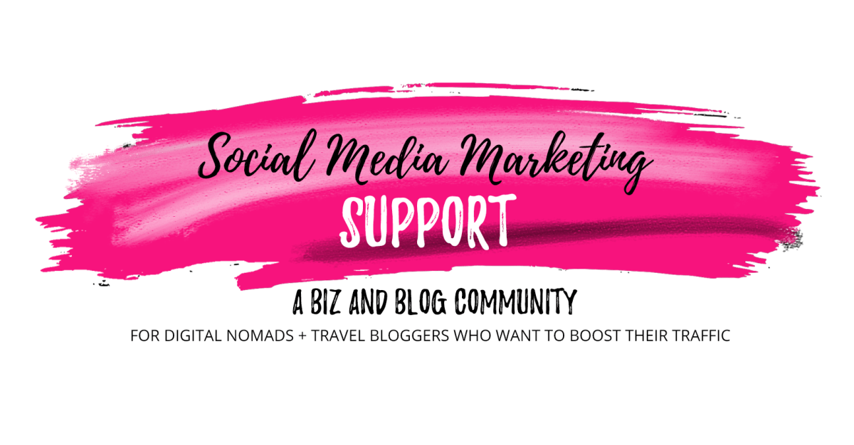 Join my private Facebook group for digital nomads and travel bloggers