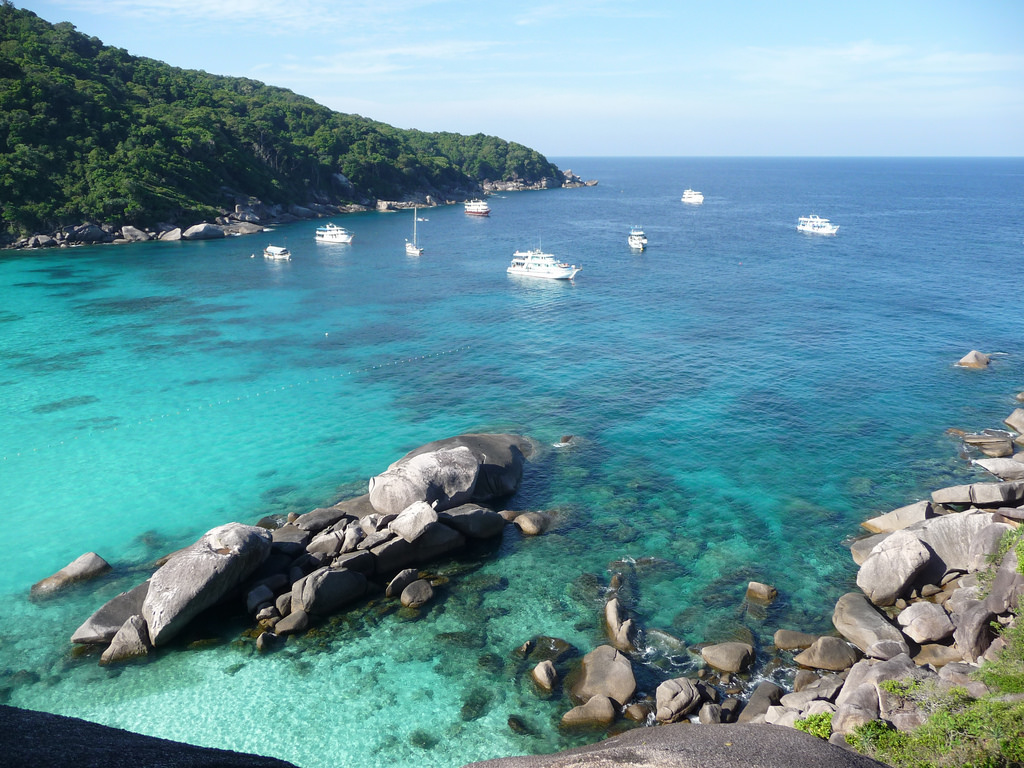 Thailand Itinerary: Visitors can travel to Similan via speedboat from Phuket or Khao Lak